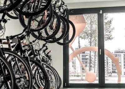 Wien Rad Fahrradgeschäft Sortiment
