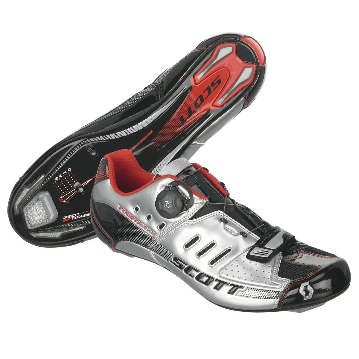 Shoe-Road-Team-Boa-Silver-black-gloss
