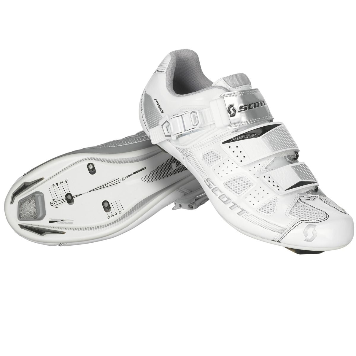 Shoe-Road-Pro-Lady-white-silver-gloss