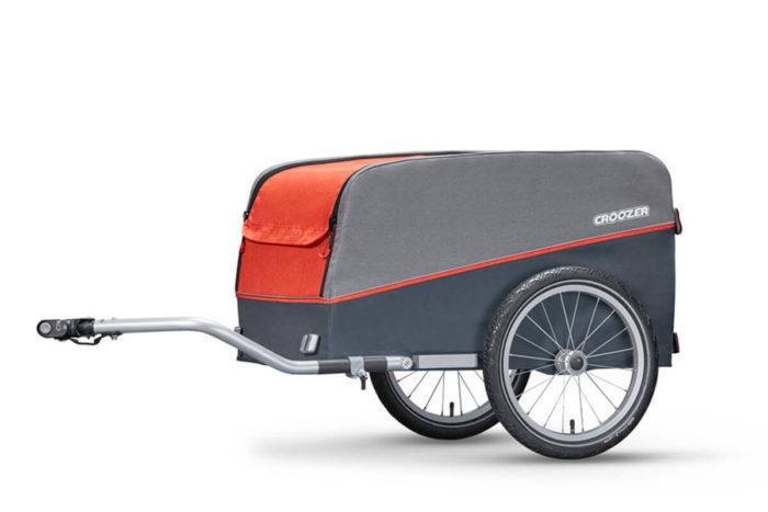 Croozer Cargo Fahrradanhänger Modell 2018 von der Seite