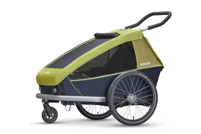 Croozer Kid for 2 Kinderfahrradanhänger Modell 2018 als Buggy