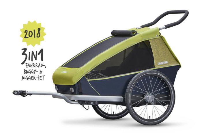 Croozer Kid for 2 Kinderfahrradanhänger Modell 2018