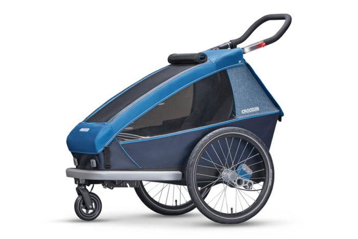 Croozer Kid Plus for 1 Kinderfahrradanhänger Modell 2018 als Buggy