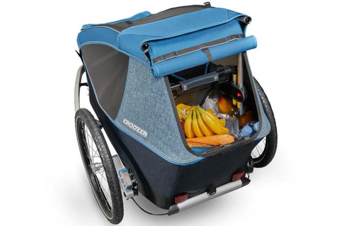 Croozer Kid Plus for 1 Kinderfahrradanhänger Modell 2018 Kofferraum
