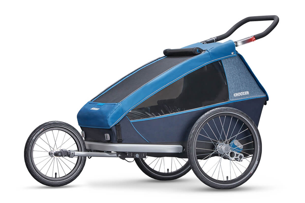 Croozer Kid Plus for 2 Kinder Fahrradanhänger Modell 2018 jogger