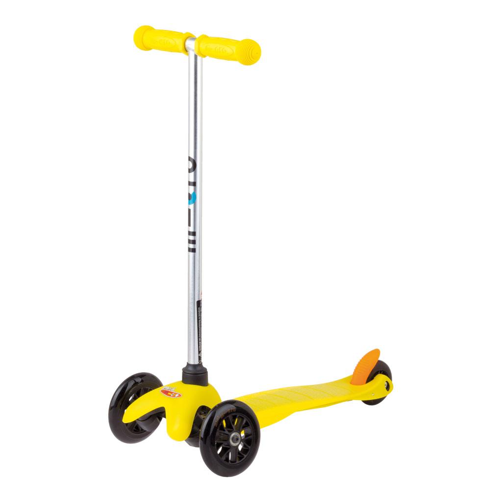 Mini Micro sporty Scooter gelb