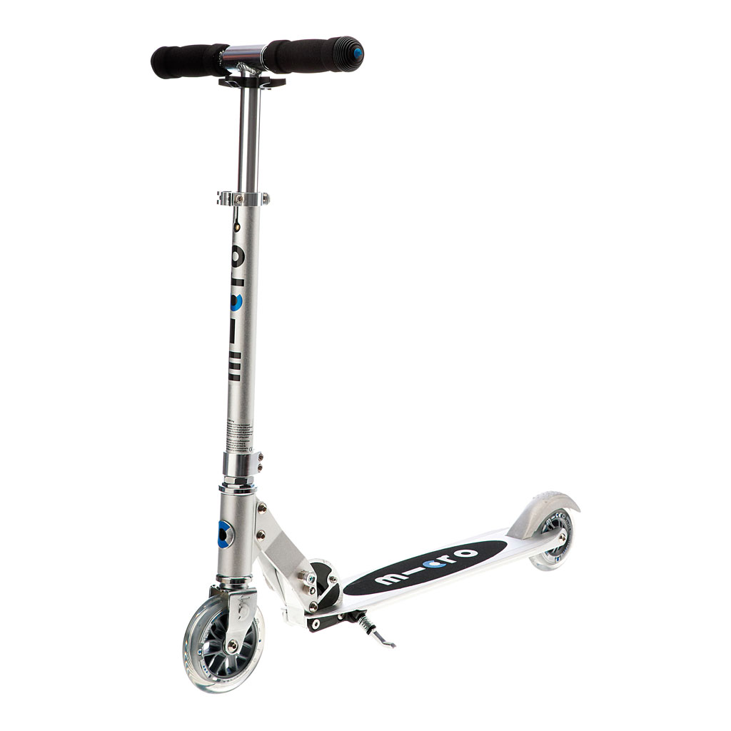 Micro Scooter Sprite silber