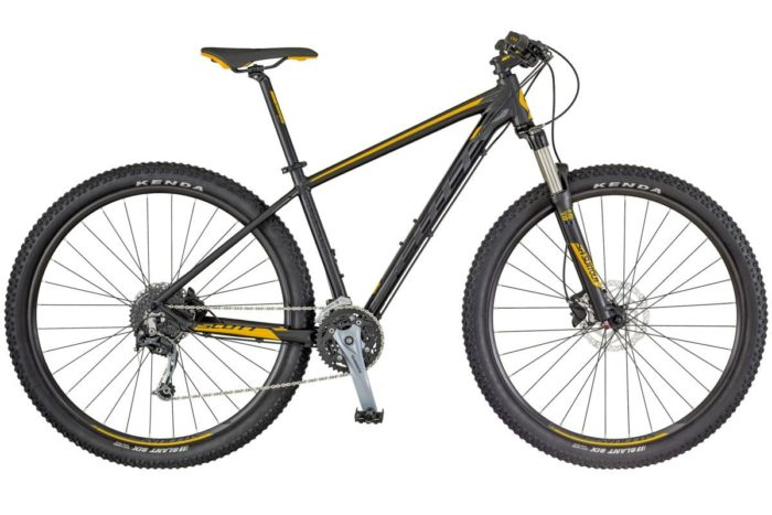SCOTT Aspect 930 black/yellow 2018