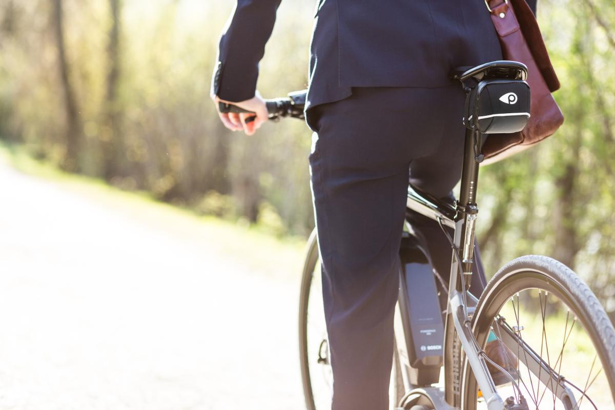 POWUNITY BGPST GPS in Fahrradtasche integriert