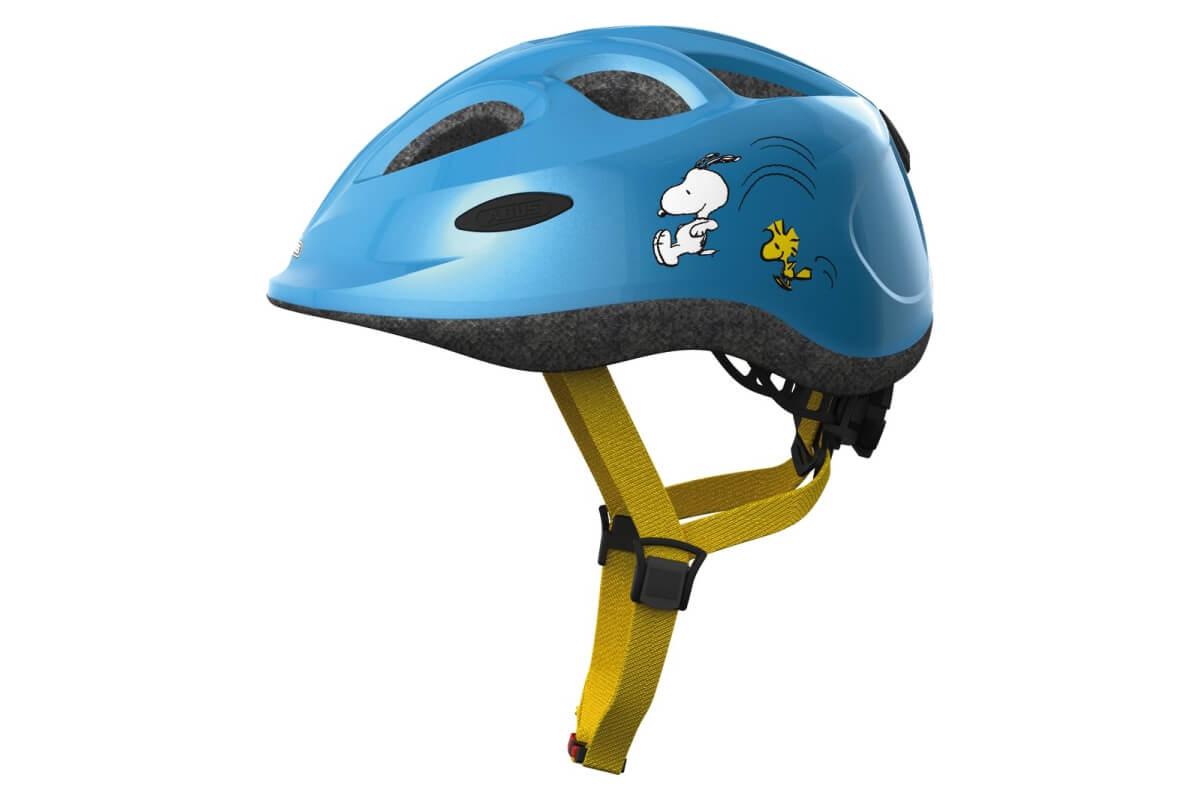 ABUS Smiley Peanuts sporty blue Kinderhelm