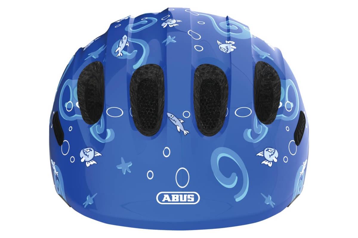 ABUS SMILEY 2.0 blue sharky Kinderhelm