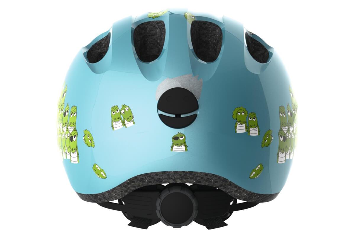 ABUS SMILEY 2.0 blue croco Kinderhelm