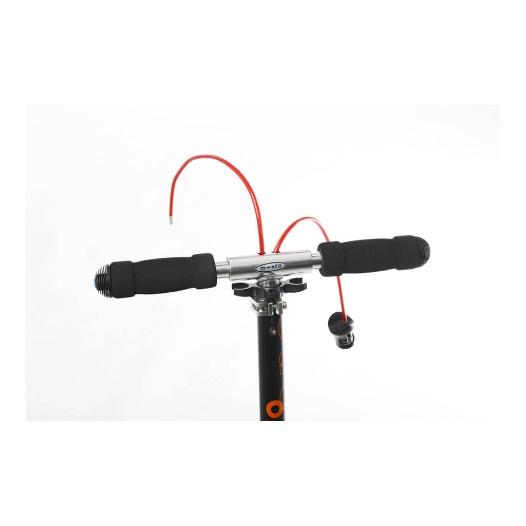 Micro Scooter Black 200mm interlock - Schloss Detail