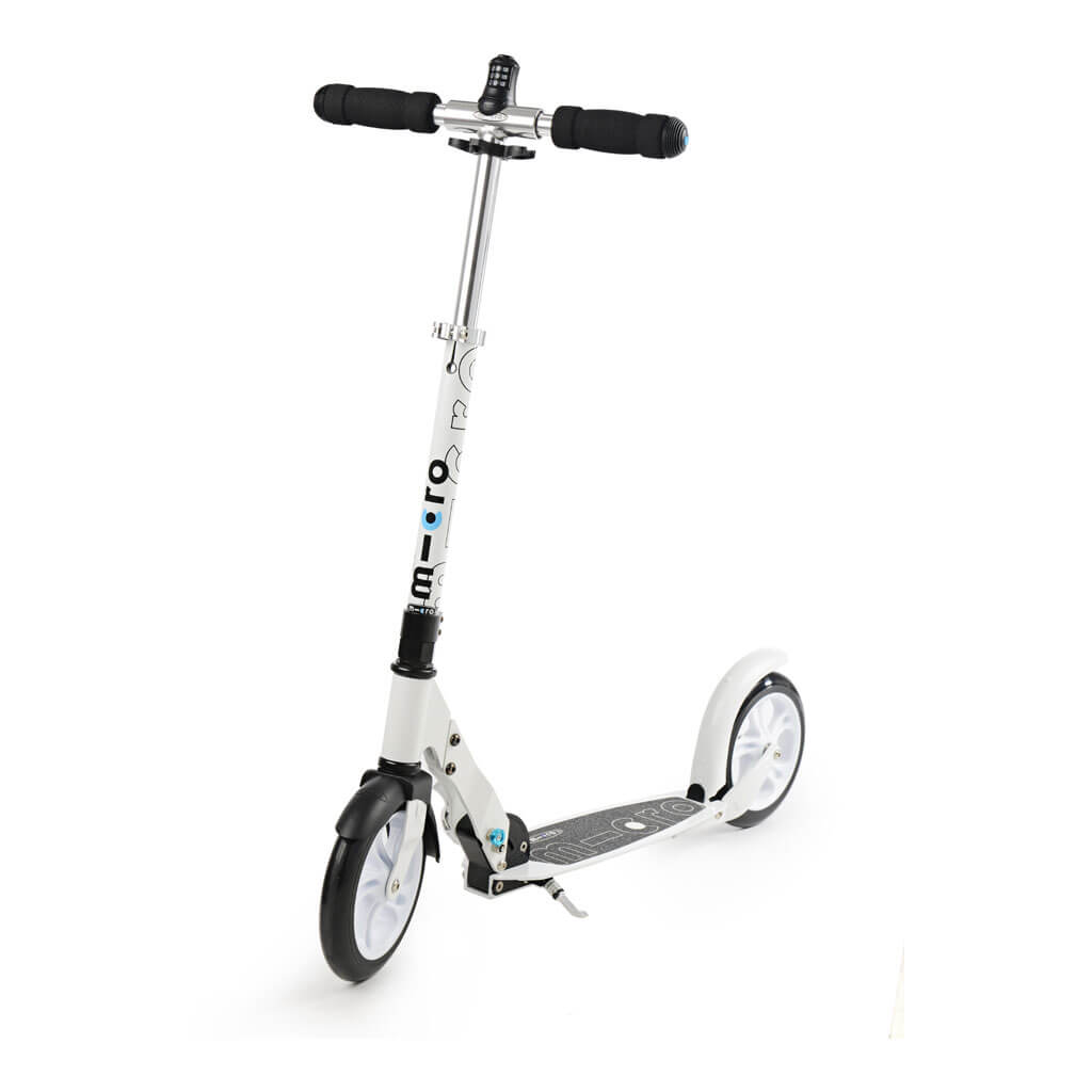 Micro Scooter White 200mm interlock