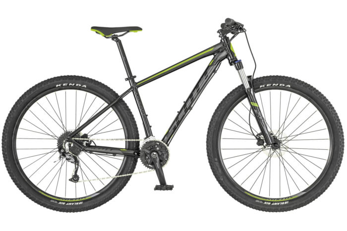 SCOTT ASPECT 740 BLACK/GREEN 2019