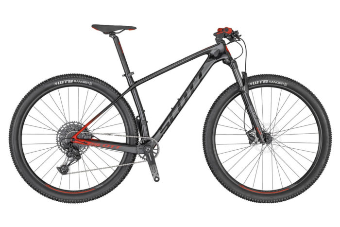 SCOTT SCALE 940 BIKE BLACK/RED 2020