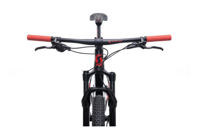 SCOTT SCALE 940 BIKE BLACK/RED