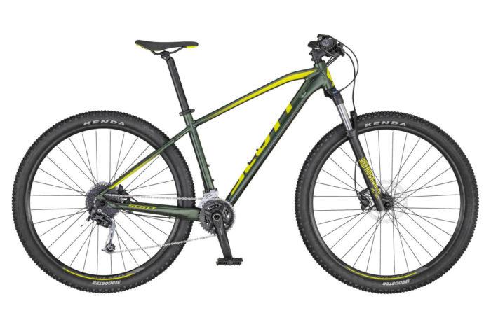 SCOTT ASPECT 930 BIKE DK.GREEN/YELLOW 2020