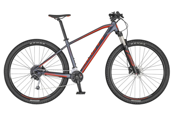 SCOTT ASPECT 740 BIKE DK.GREY/RED 2020