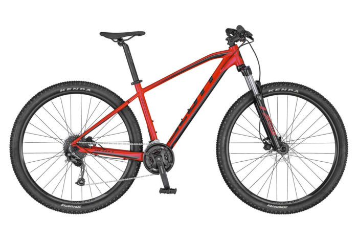 SCOTT ASPECT 750 BIKE RED/BLACK 2020