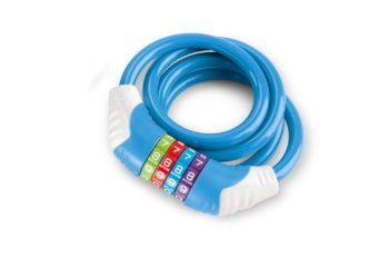 PUKY Sicherheitskabelschloss für Kinder KS 12 blau